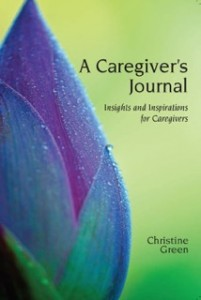 Book - Caregivers Journal by Rev. Christine Green